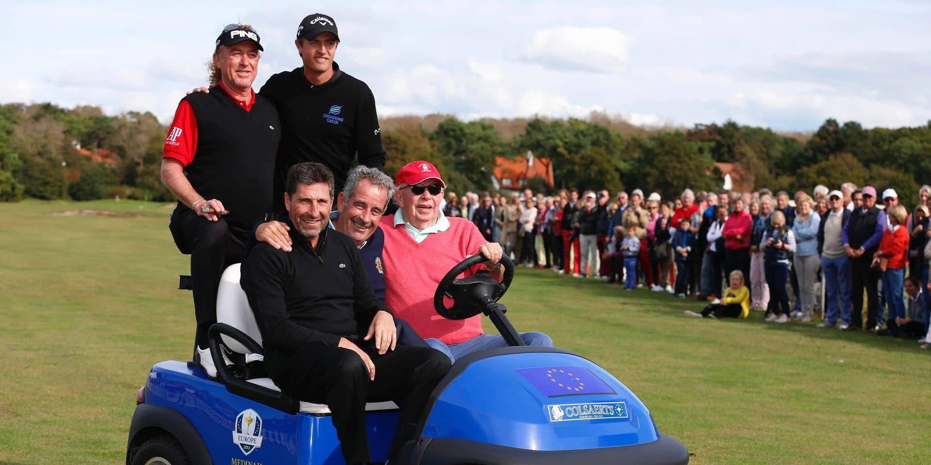 Léopold Lippens et l'amour du golf