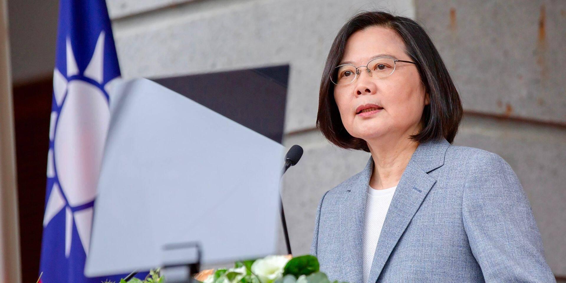 """La Chine """"ne tolérera jamais"""" une sécession de Taïwan"""