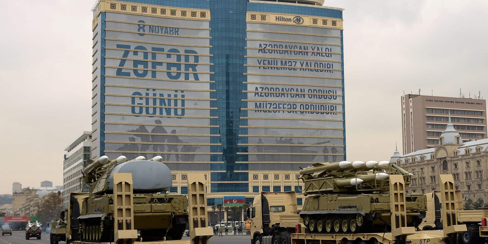 Le président Erdogan à Bakou pour célébrer la victoire au Haut-Karabakh