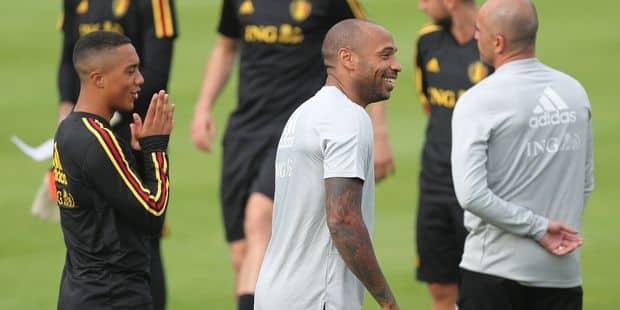 Ce que pensent les Diables du départ de Thierry Henry à Monaco - La Libre