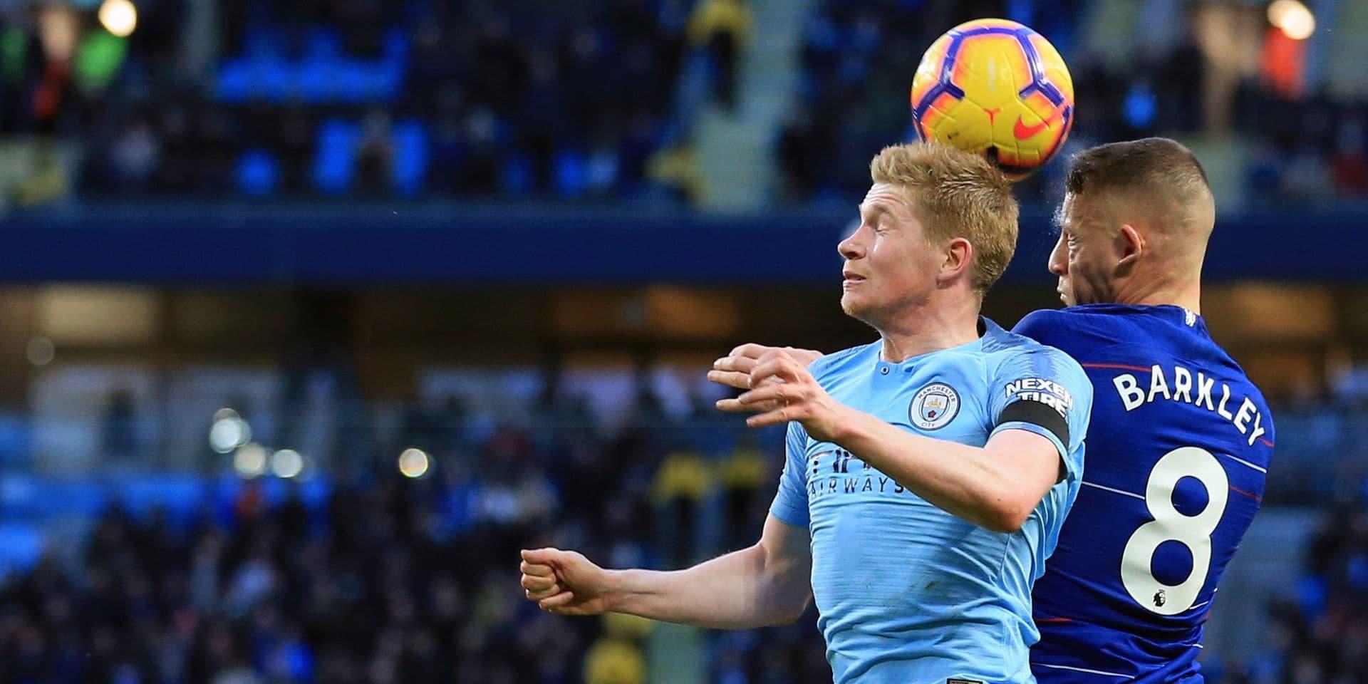 Belges à l'étranger: De Bruyne participe au festival de City contre le Chelsea d'Eden Hazard