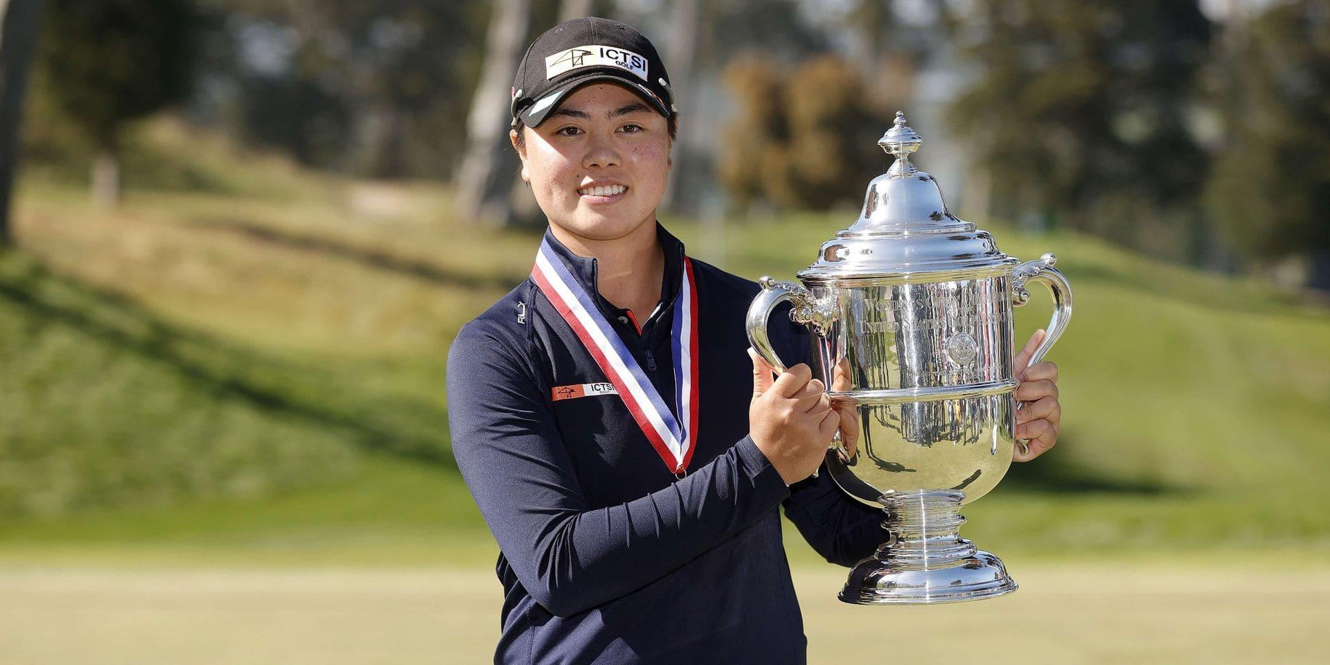 Yuka Saso remporte l'US Open féminin