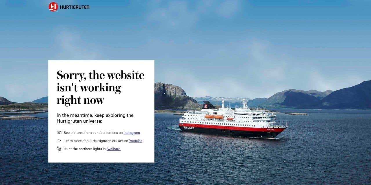 """Le croisiériste norvégien Hurtigruten victime d'une """"grave"""" cyberattaque"""