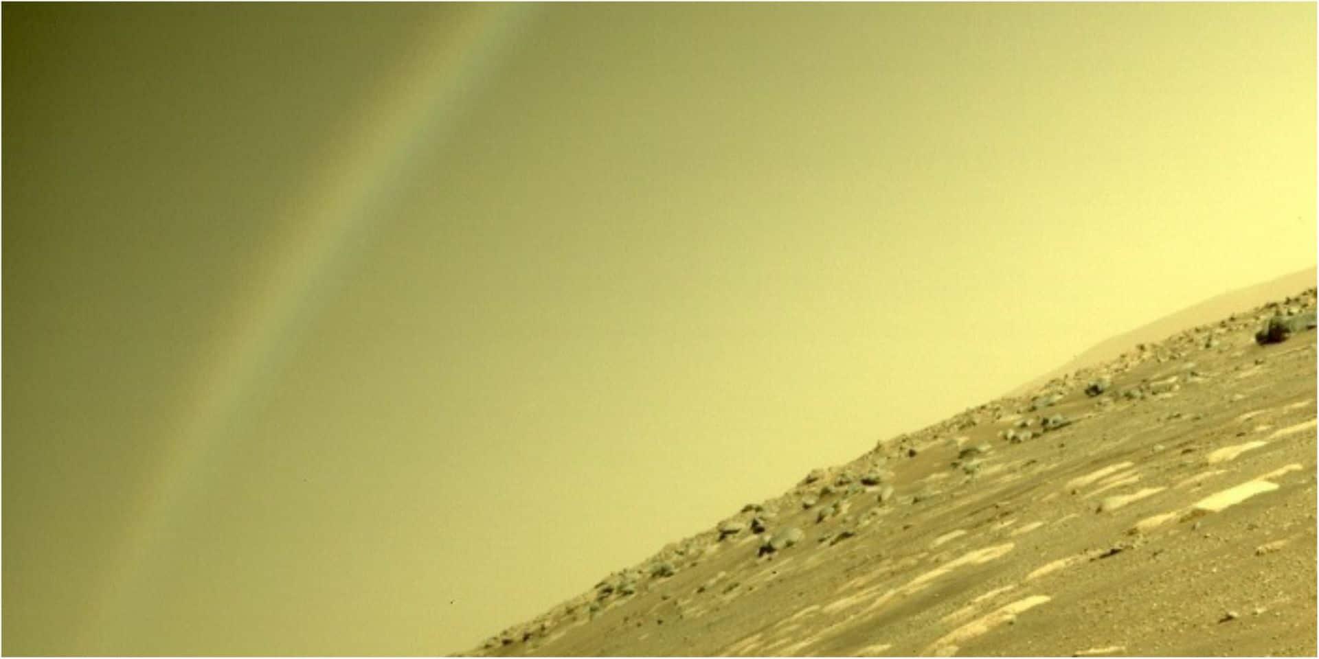 Un arc-en-ciel sur Mars ? La Nasa met les choses au clair