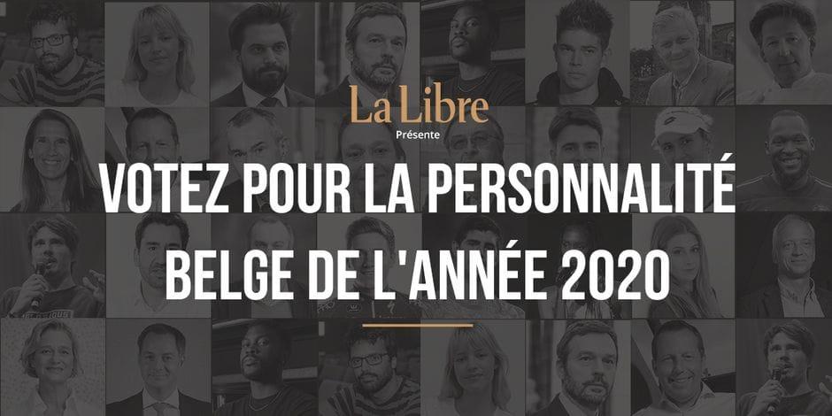 Votez pour la personnalité belge de l'année
