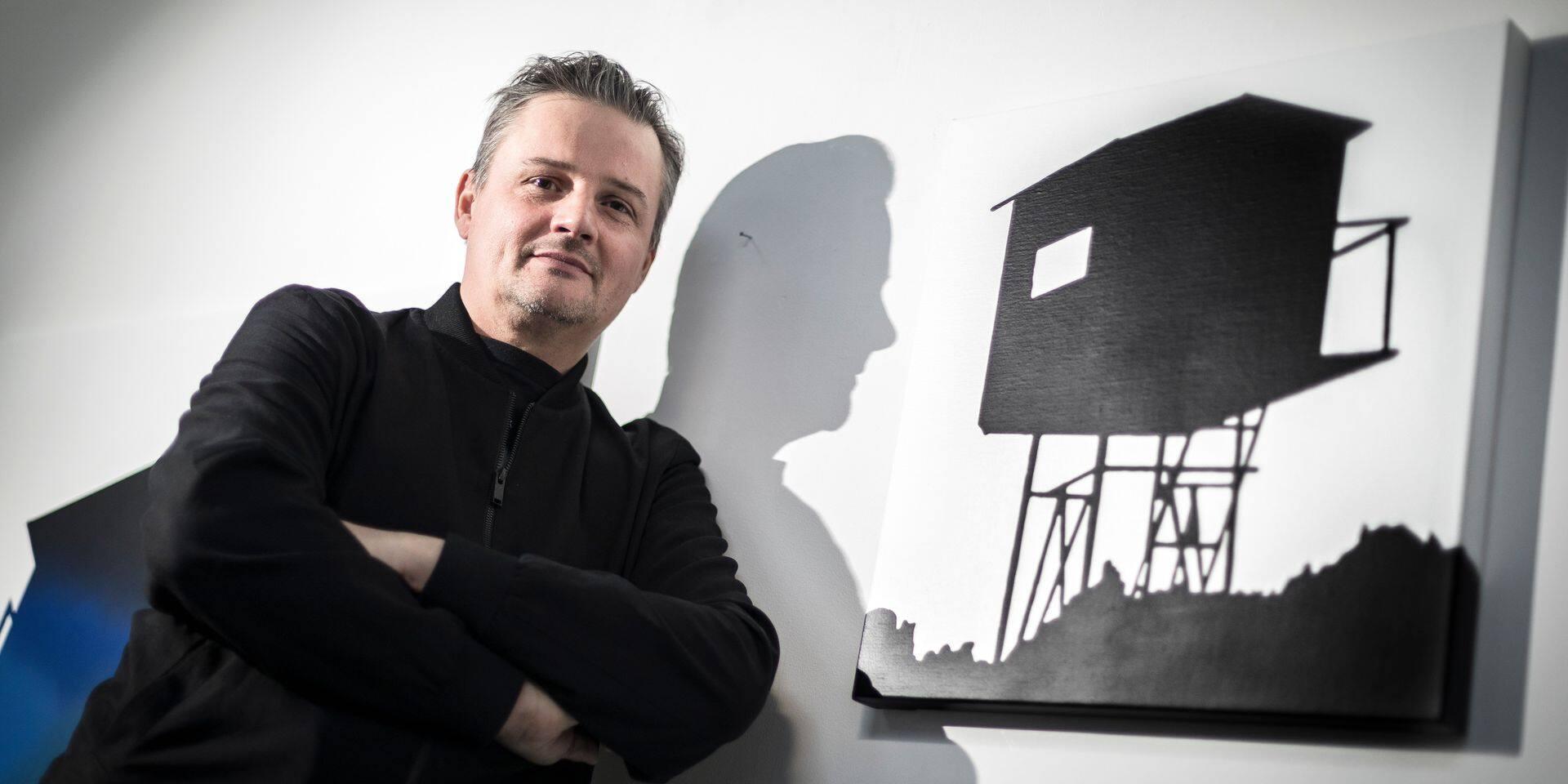 Michaël Nicolaï, digne représentant du street art liégeois