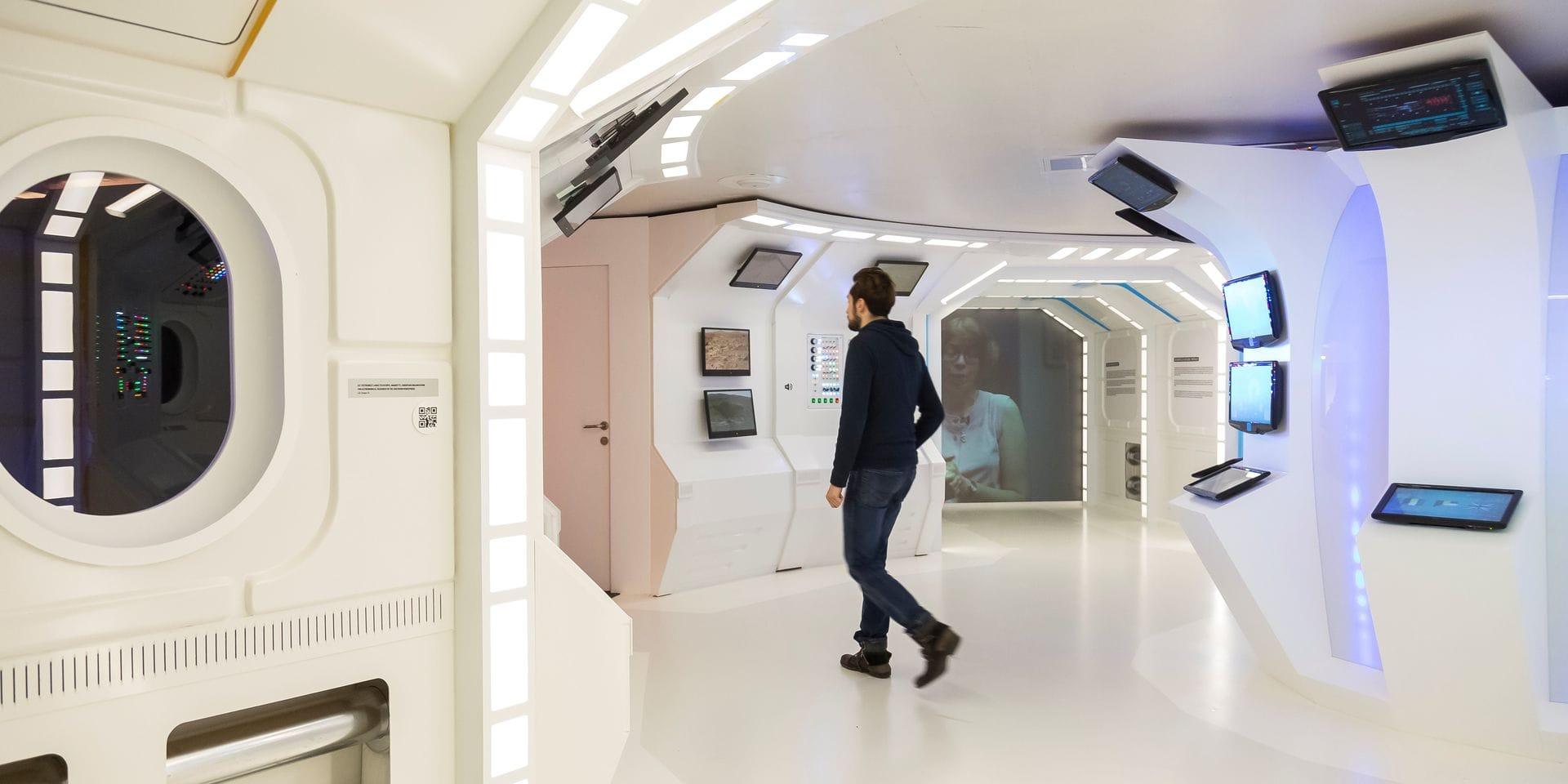 Liège : visite de l' exposition 20 ans en 2030