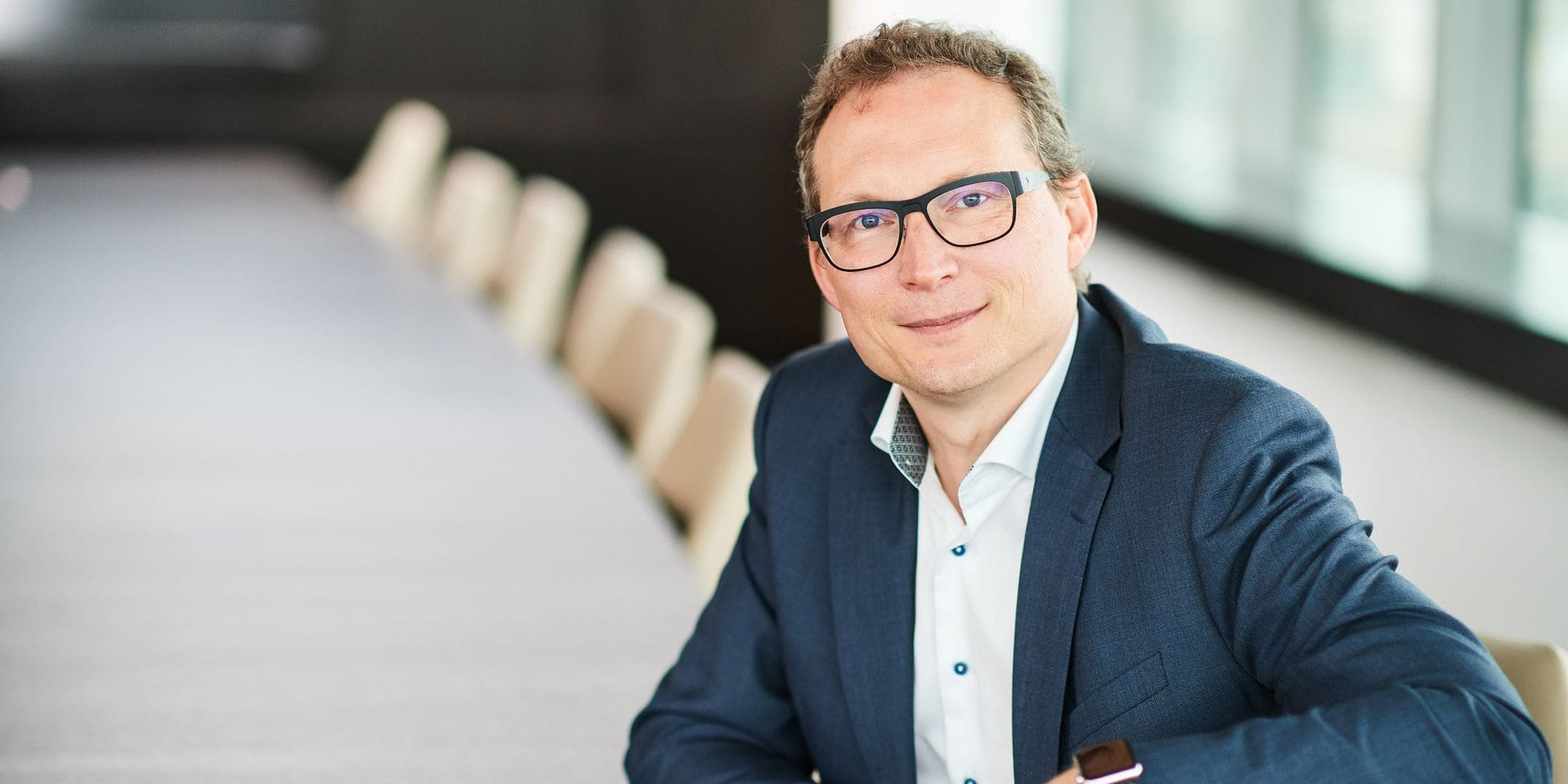 Stefaan Gielens, CEO d'Aedifica depuis 2006.