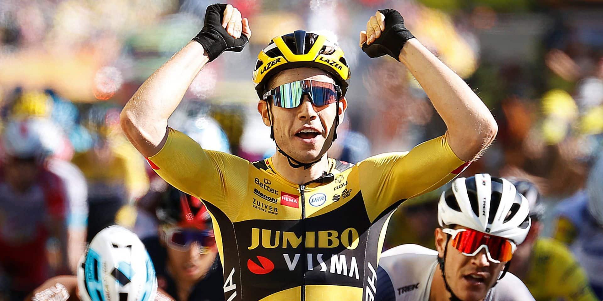 Van Aert, mérite sportif à l'unanimité et avec les félicitations du jury