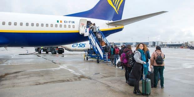 Ryanair : 80% du personnel de la compagnie en grève à Brussels Airport - La Libre