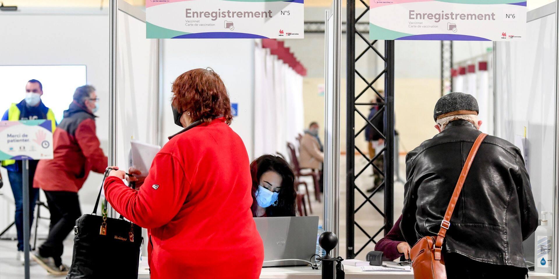 La Wallonie crée 75 lignes de vaccination supplémentaires
