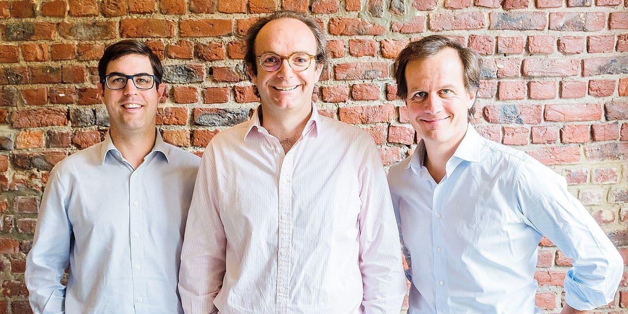 Jean-Bernard van Zuylen, Gregory Blondeau et Geoffroy De Cooman: fondateurs de Proxyclick.