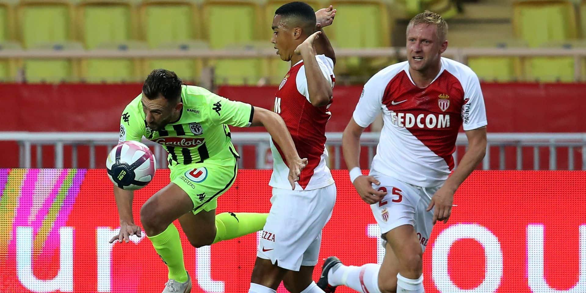 Les Belges à l'étranger: Chadli et Tielemans s'enfoncent avec Monaco, Nantes et Limbombe battus par Nice