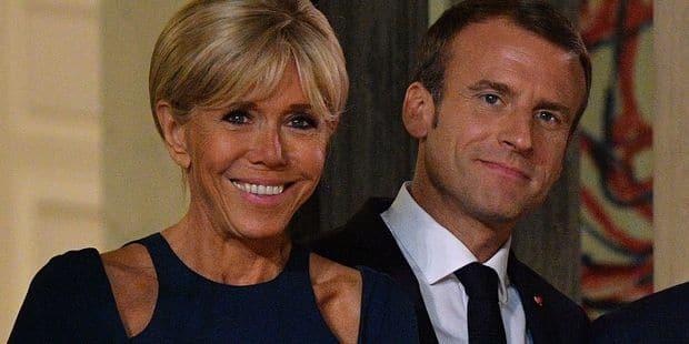Emmanuel Macron Wedding.Closer Than Ever Brigitte And Emmanuel Macron Celebrate Discreetly