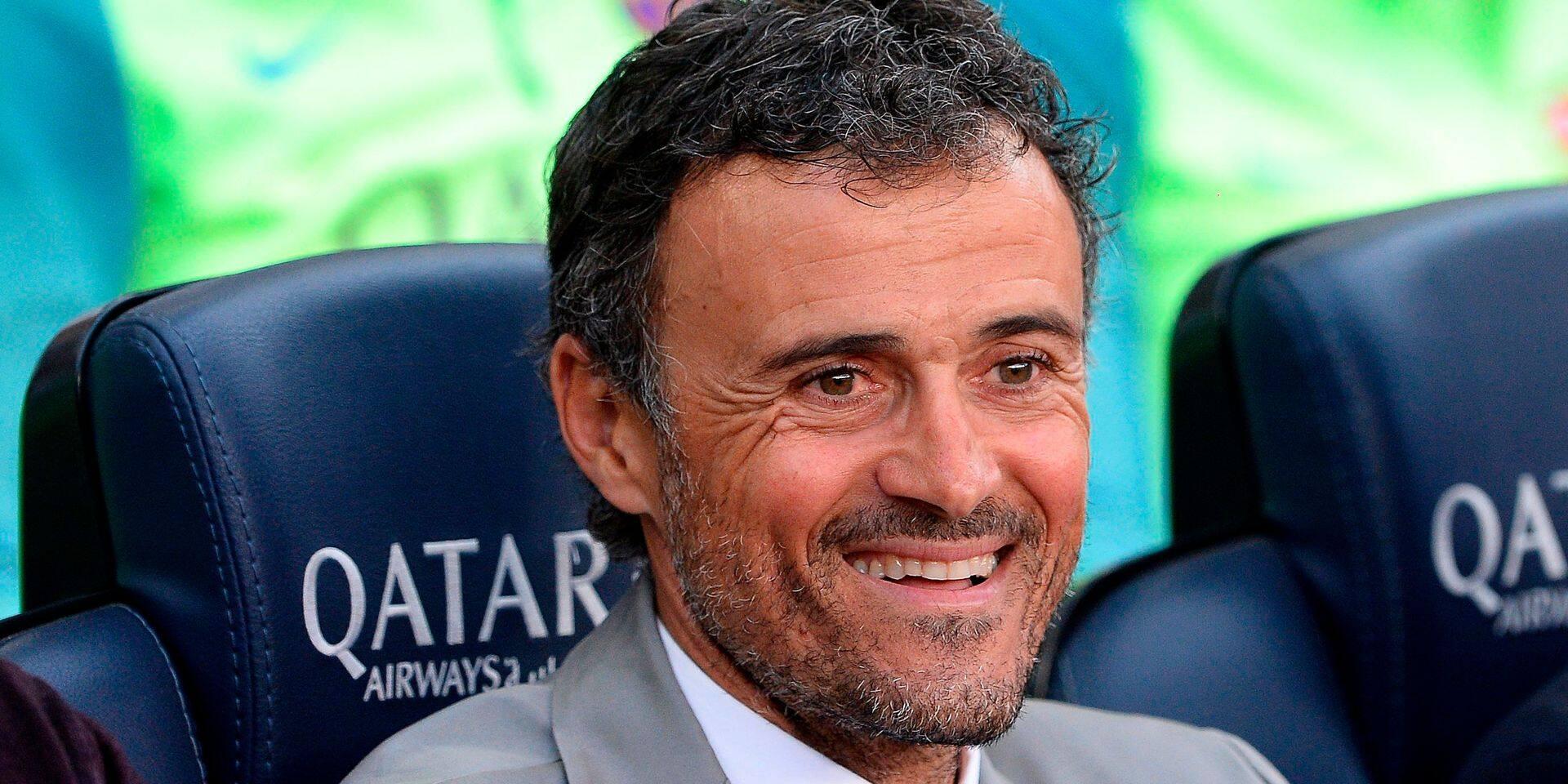 Luis Enrique nommé nouvel entraîneur de l'équipe nationale espagnole de football