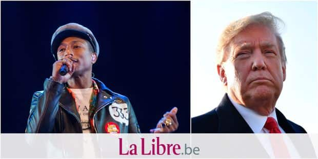Musique: Pharrell Williams menace Donald Trump de poursuites