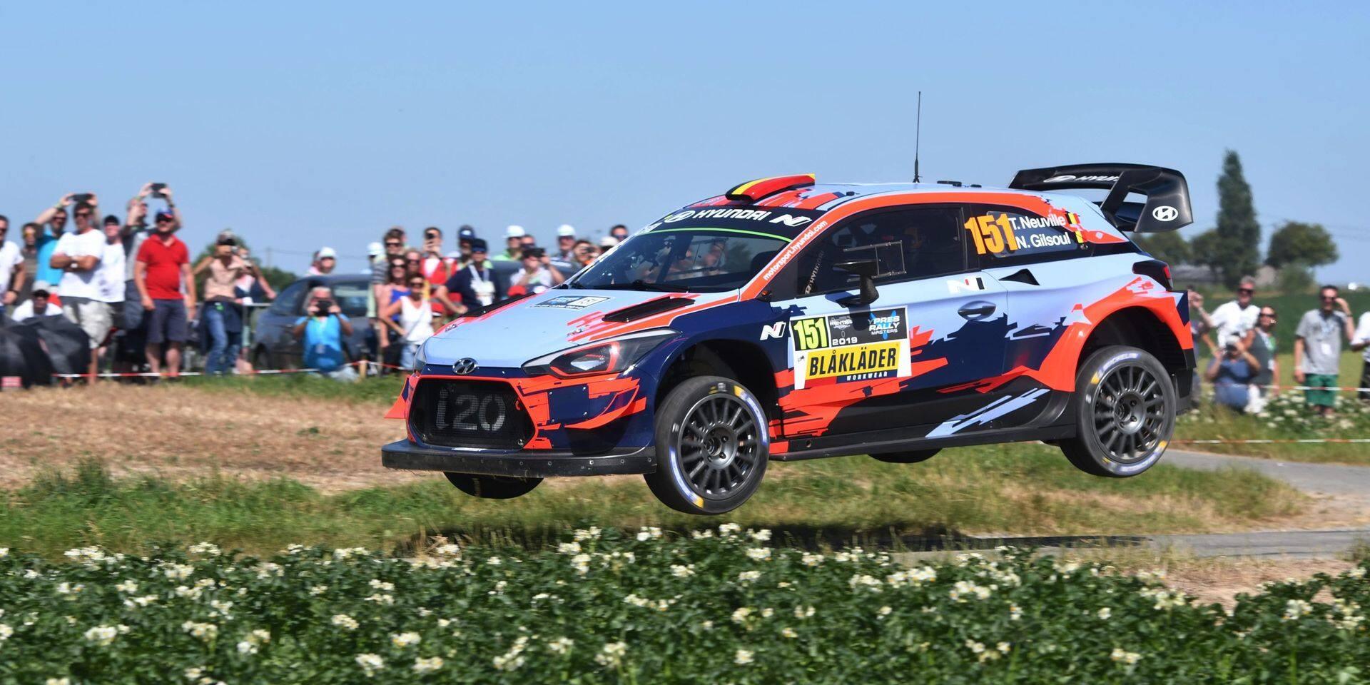 Le Mondial des rallyes prêt à passer par Ypres et... Francorchamps début octobre!