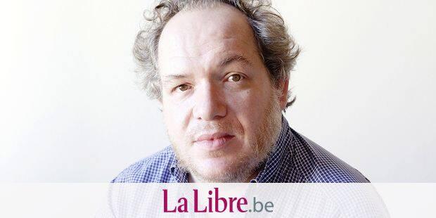 Portrait de l'ecrivain francais Mathias Enard, septembre 2013 Photographie ©Leonardo Cendamo/Leemage Reporters / LEEMAG