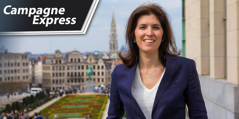 """Alexia Bertrand : """"Bruxelles doit à nouveau faire rêver"""""""