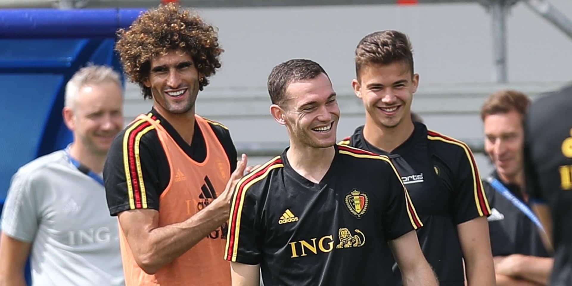 Seul Kompany manque l'entraînement à la veille de Belgique-Tunisie
