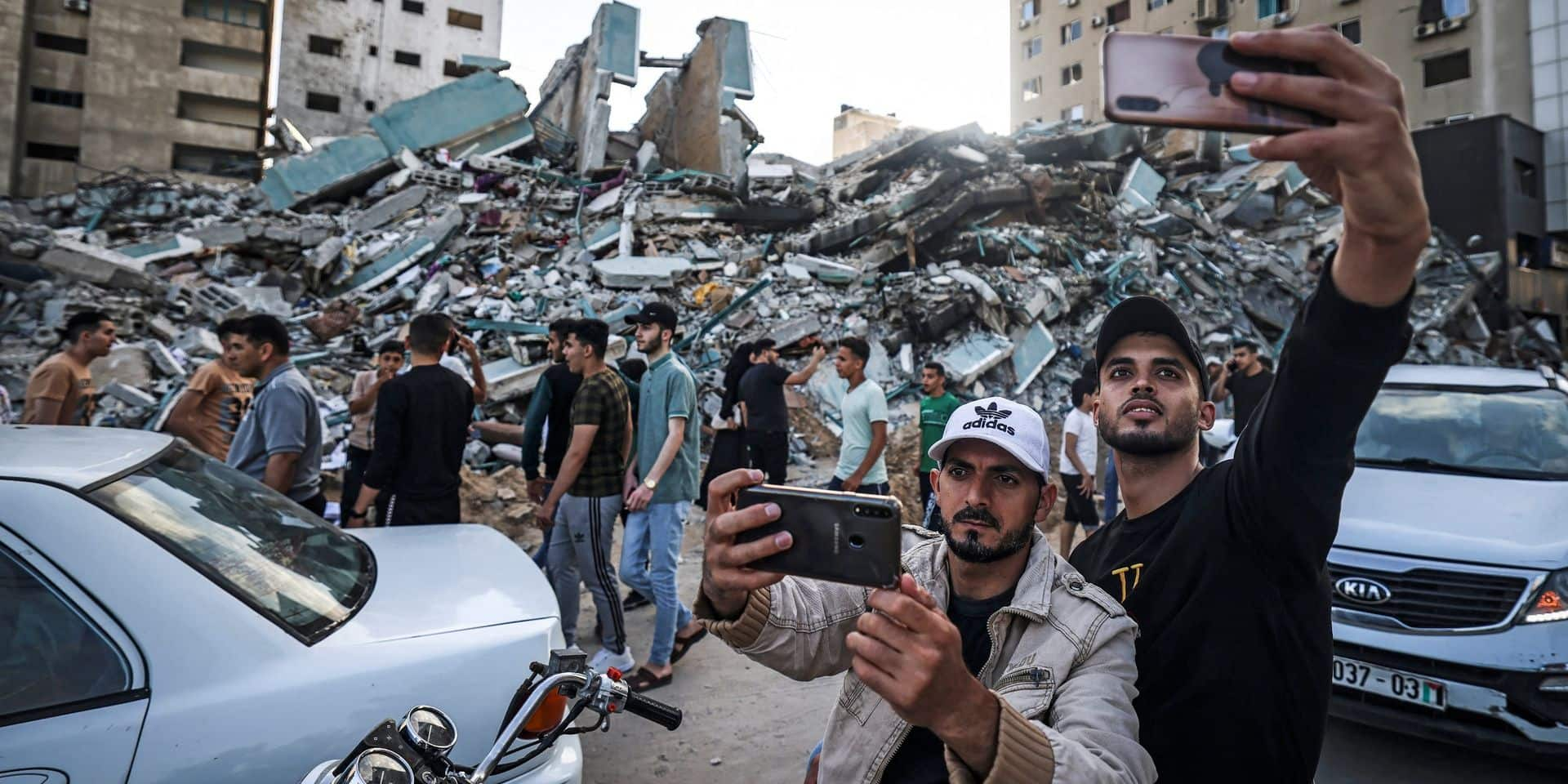 La trêve tient à Gaza et en Israël, les habitants sortent pour constater les dégâts