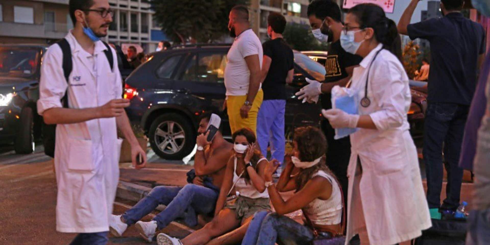 Explosions à Beyrouth: des médecins libanais pourront poursuivre leur formation clinique en Belgique