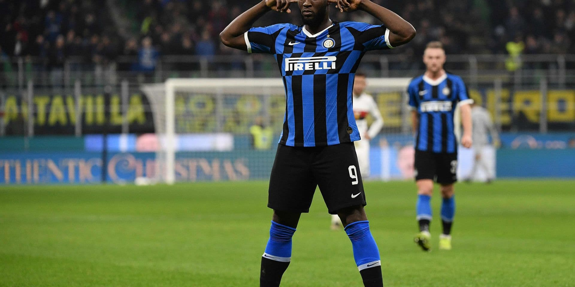 Romelu Lukaku a mis tout Milan à ses pieds