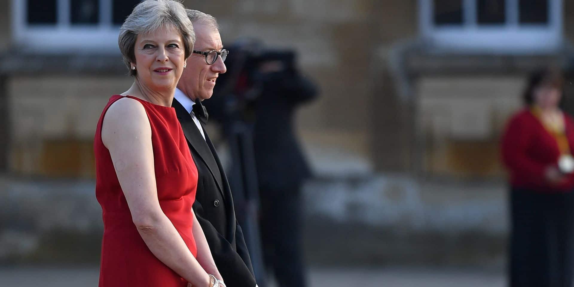 Theresa May à l'heure de la séduction