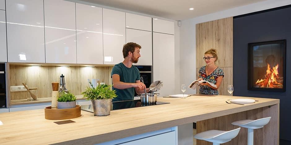 Gagnez une cuisine et un feu au bois d'une valeur de 26.000€