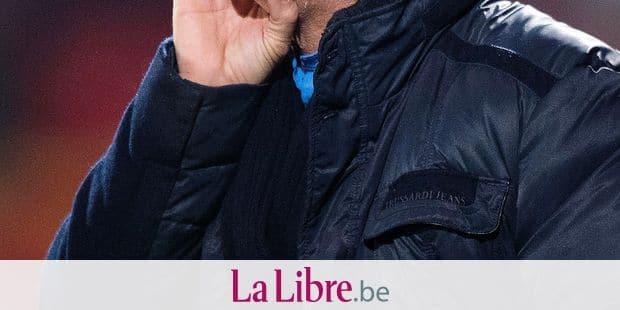 Mouscron's head coach Mircea Rednic reacts during the Jupiler Pro League match between KV Mechelen and Royal Excel Mouscron, in Mechelen, Friday 26 January 2018, on day 22 of the Jupiler Pro League, the Belgian soccer championship season 2017-2018. BELGA PHOTO JASPER JACOBS