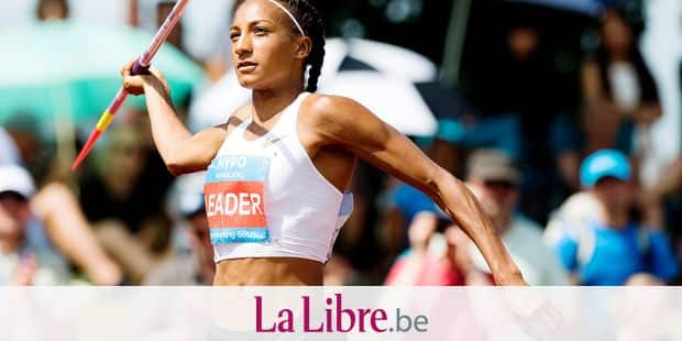 Belgian Nafissatou Nafi Thiam pictured in action during the javelin event of the women's heptathlon competition on the second day of the Hypo-Meeting, IAAF World Combined Events Challenge, in the Mosle stadium in Gotzis, Austria, Sunday 27 May 2018. BELGA PHOTO JASPER JACOBS