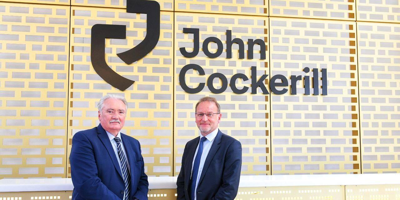 Le groupe CMI rebaptisé John Cockerill
