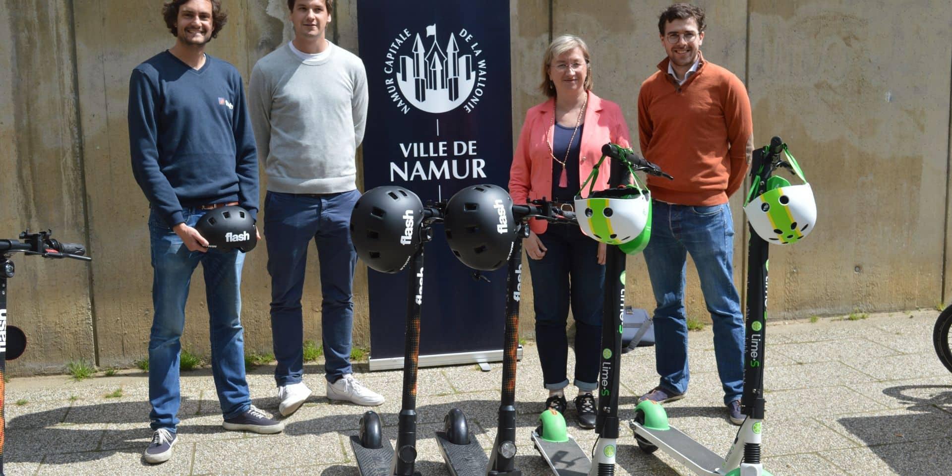 Plus de trottinettes en free-floating à Namur