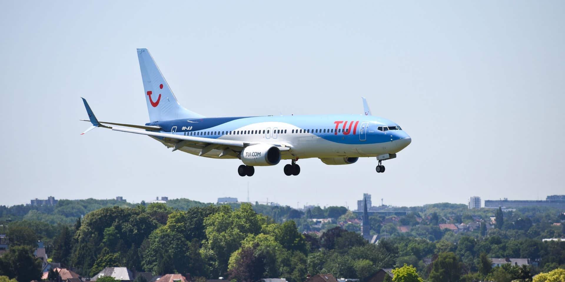 TUI suspend ses vols jusqu'en mars depuis les Pays-Bas