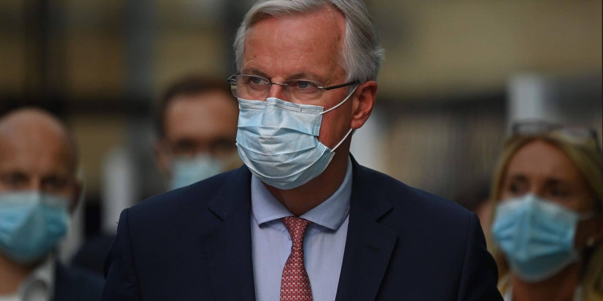 Brexit: les tensions persistent, Barnier et Frost se voient à Bruxelles