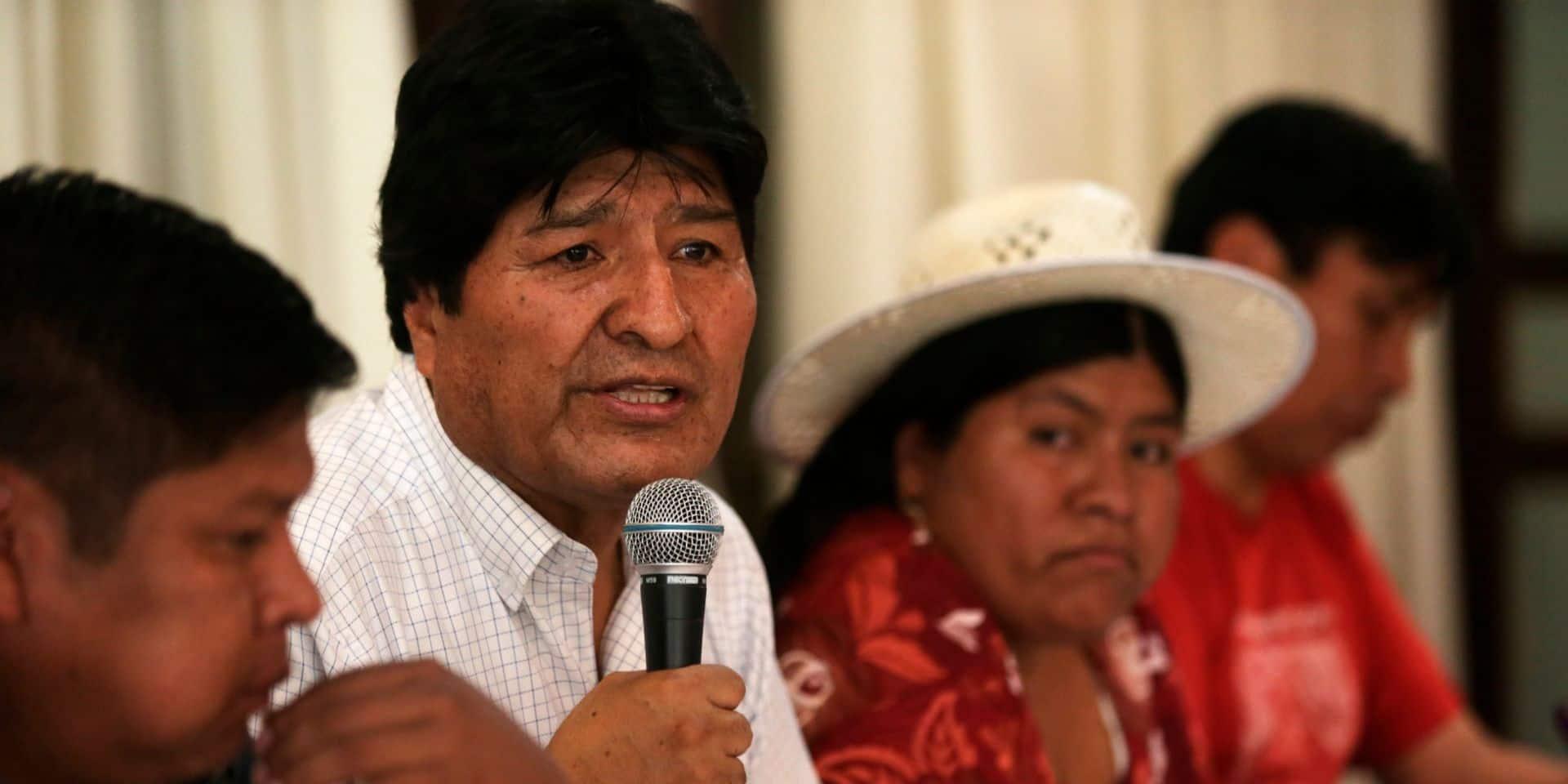 Bolivie: le gouvernement accuse Evo Morales d'avoir eu une liaison avec une mineure