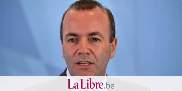 Manfred Weber (Chairman of the EPP Group in the European Parliament), single image, single motif, portrait, portrait, portrait. Press conference of the Bavarian State Government in the State Chancellery in Munich on 09.10.2018, | usage worldwide Reporters / DPA