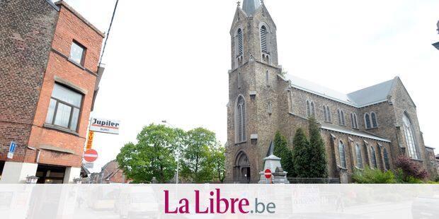 Le quartier de l'église Sainte-Walburge à Liège.