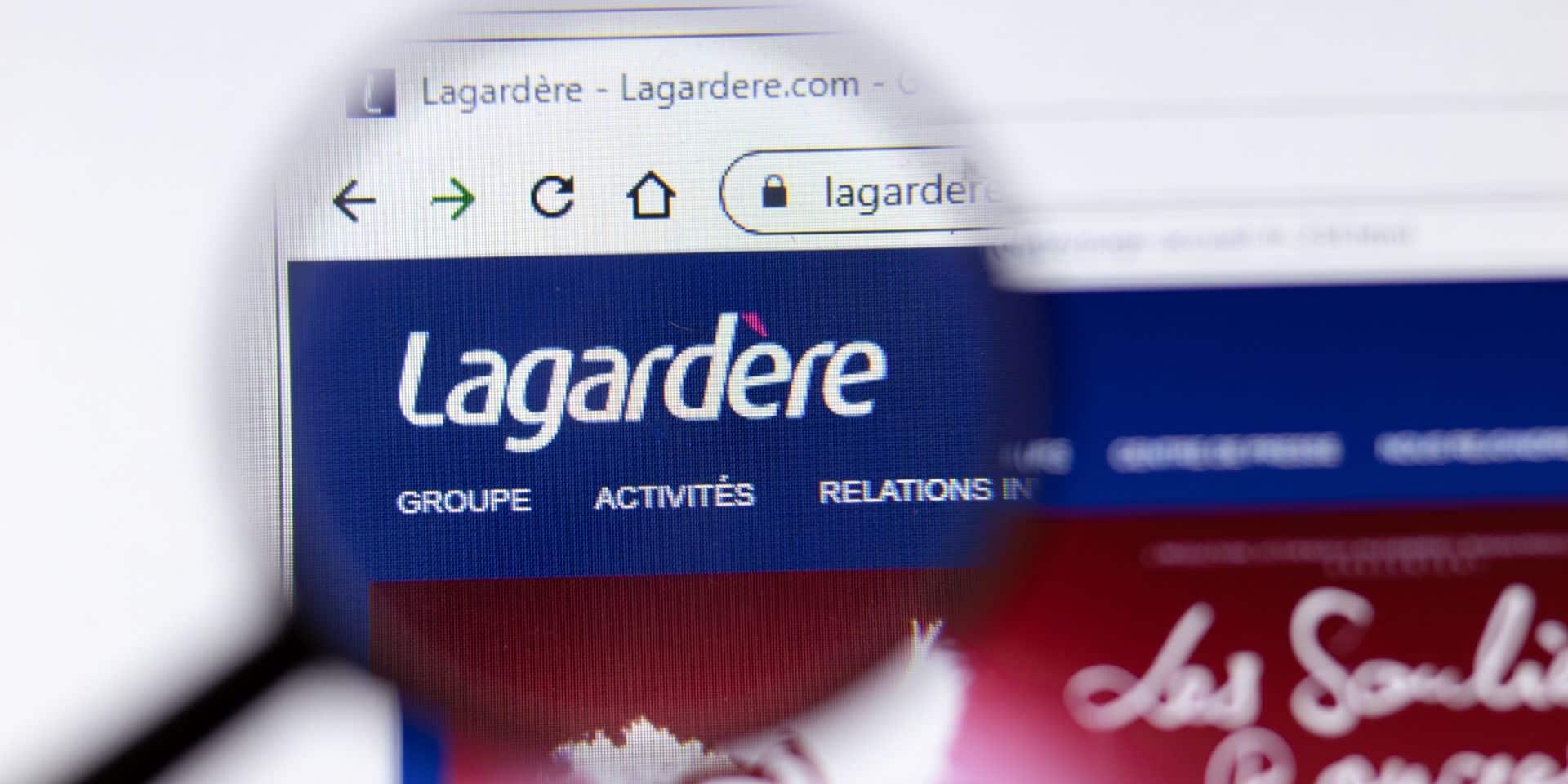 France: le groupe Lagardère obtient un prêt garanti par l'Etat de 465 millions d'euros