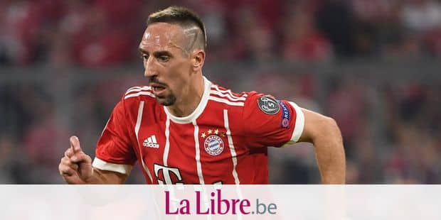 Single action, cut-out Franck Ribery (FCB). GES / Football / Champions League semi-finals: FC Bayern Munich - Real Madrid, 25.04.2018 - Football / Soccer Champions League Semifinal: FC Bavaria Munich vs. Real Madrid, April 25 Day, 2018 - | usage worldwide Reporters / DPA