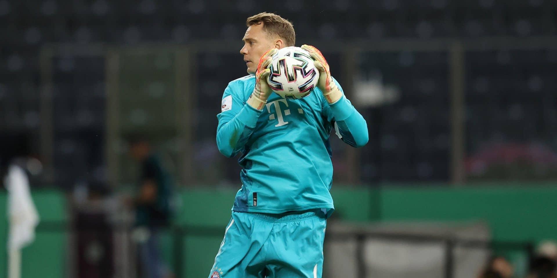 Le gardien du Bayern Munich filmé en train d'entonner un chant croate d'extrême droite