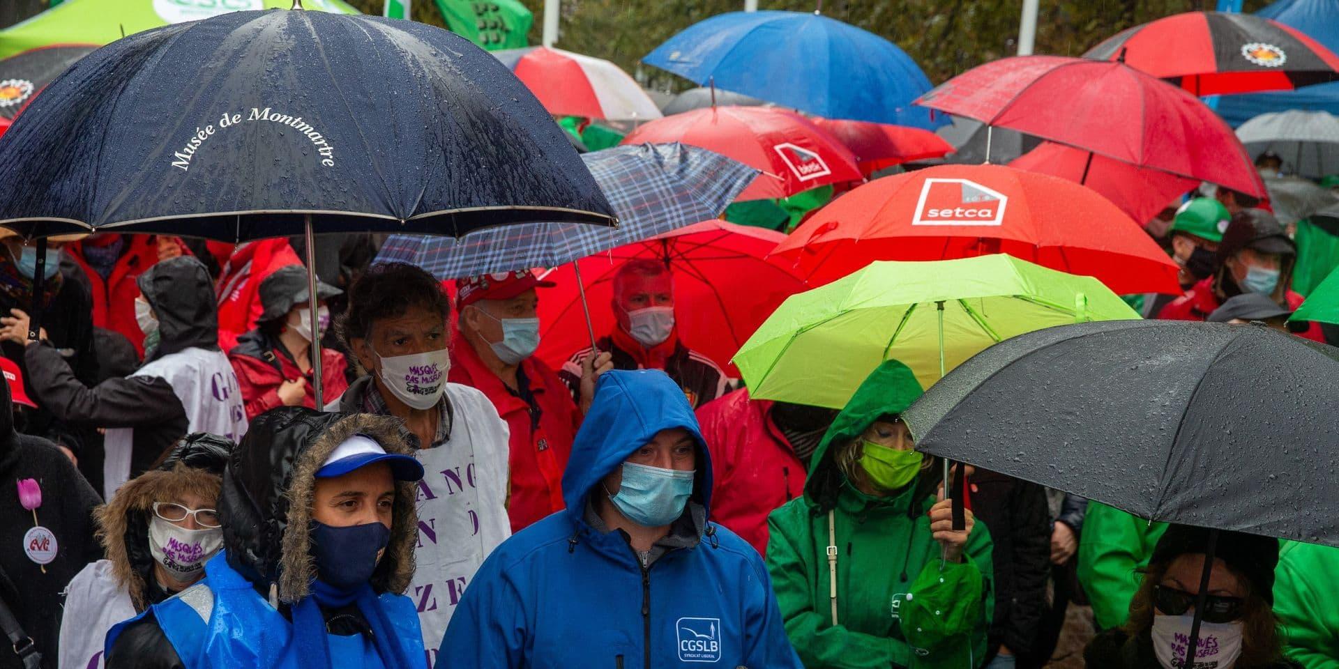 Vendredi, une journée d'actions est organisée dans plusieurs entreprises du pays par le front commun syndical.