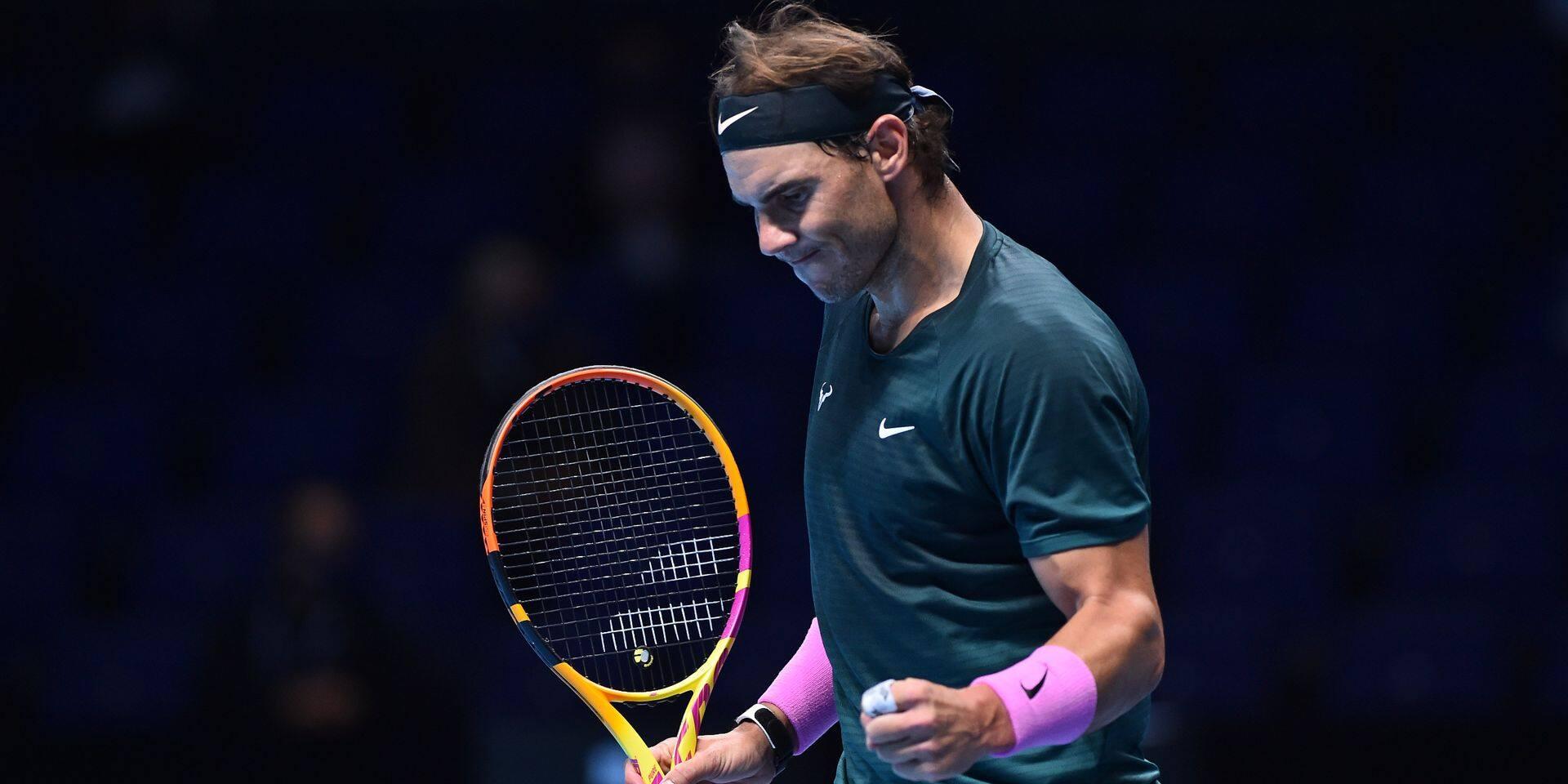 ATP Finals: Rafael Nadal élimine le tenant du titre Stefanos Tsitsipas et rejoint les demi-finales