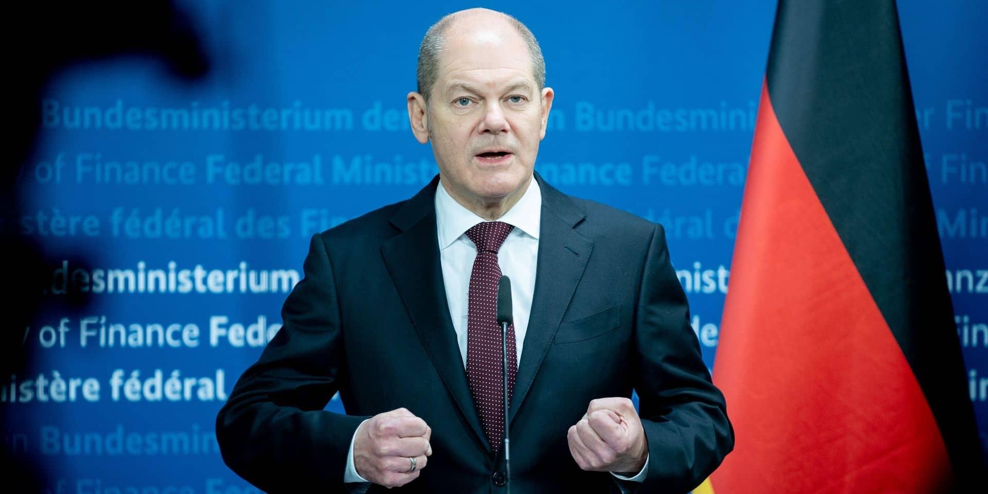 """""""Je veux une supervision qui ait du mordant"""", a déclaré le ministre des Finances Olaf Scholz."""