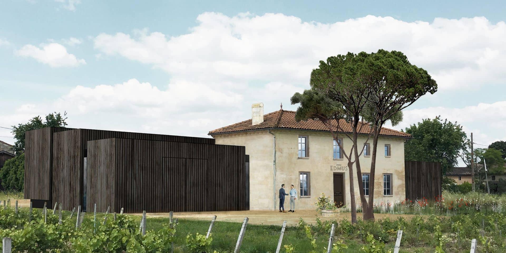 Le Château Edmus est situé sur les terres de Saint-Sulpice de Faleyrens, l'une des huit communes de la juridiction de Saint-Émilion.