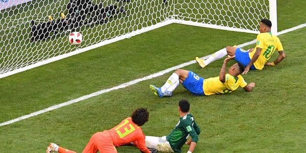 Le Brésil attend la Belgique en quarts après sa victoire face au Mexique (2-0) - La Libre