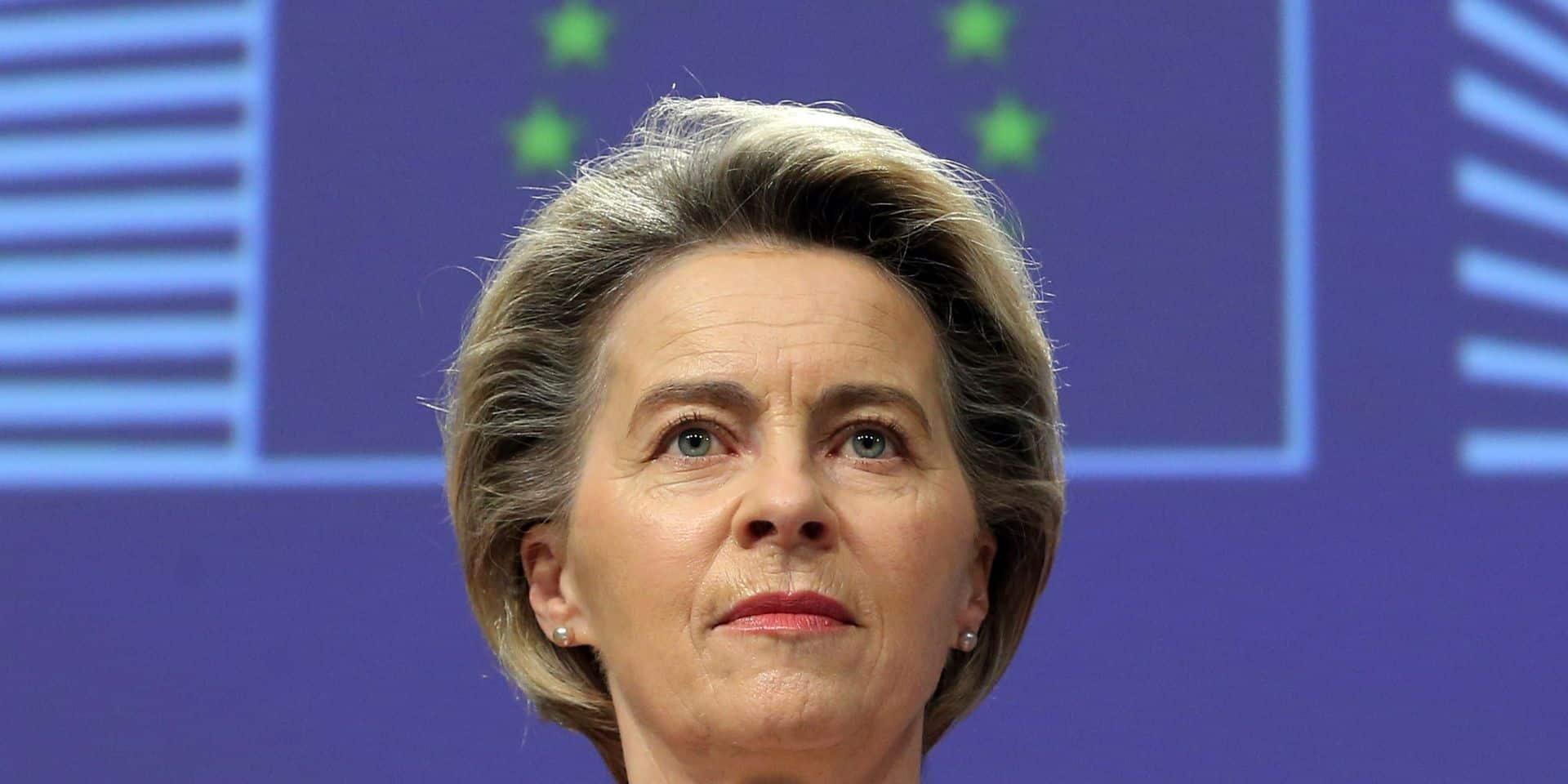 La présidente de la Commission Ursula von der Leyen sera l'hôte des Grandes conférences catholiques, le lundi 25 janvier
