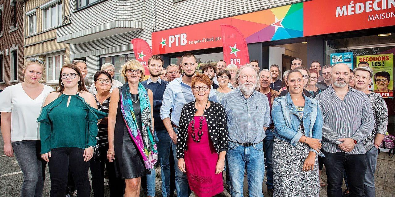HERSTAL. LE GROUPE PTB POUR LES ELECTIONS COMMUNALES 2018 A HERSTAL. Photo Michel Tonneau