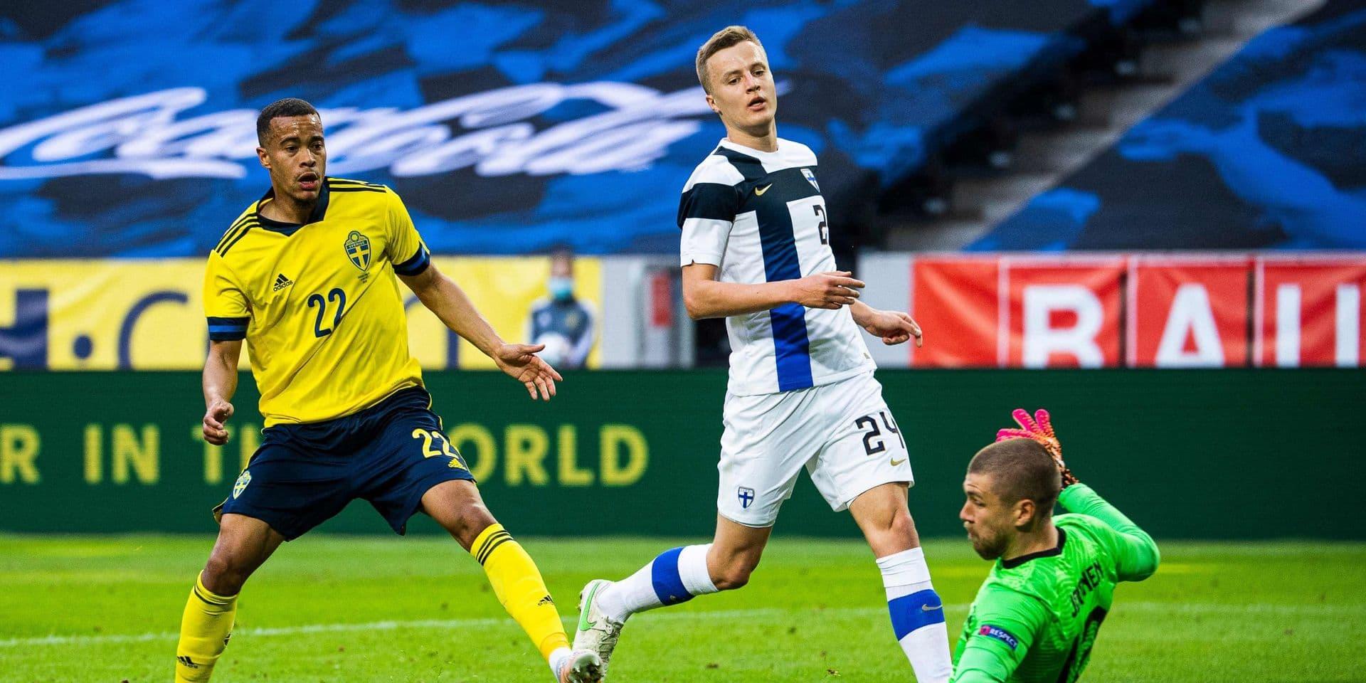 La Finlande, adversaire des Diables à l'Euro, s'incline en Suède