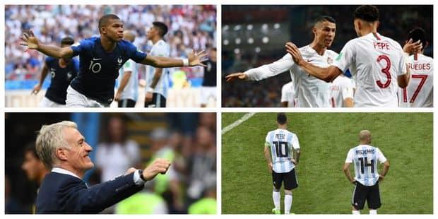 Les 3 faits marquants de cette première journée de phase finale de Coupe du Monde - La Libre